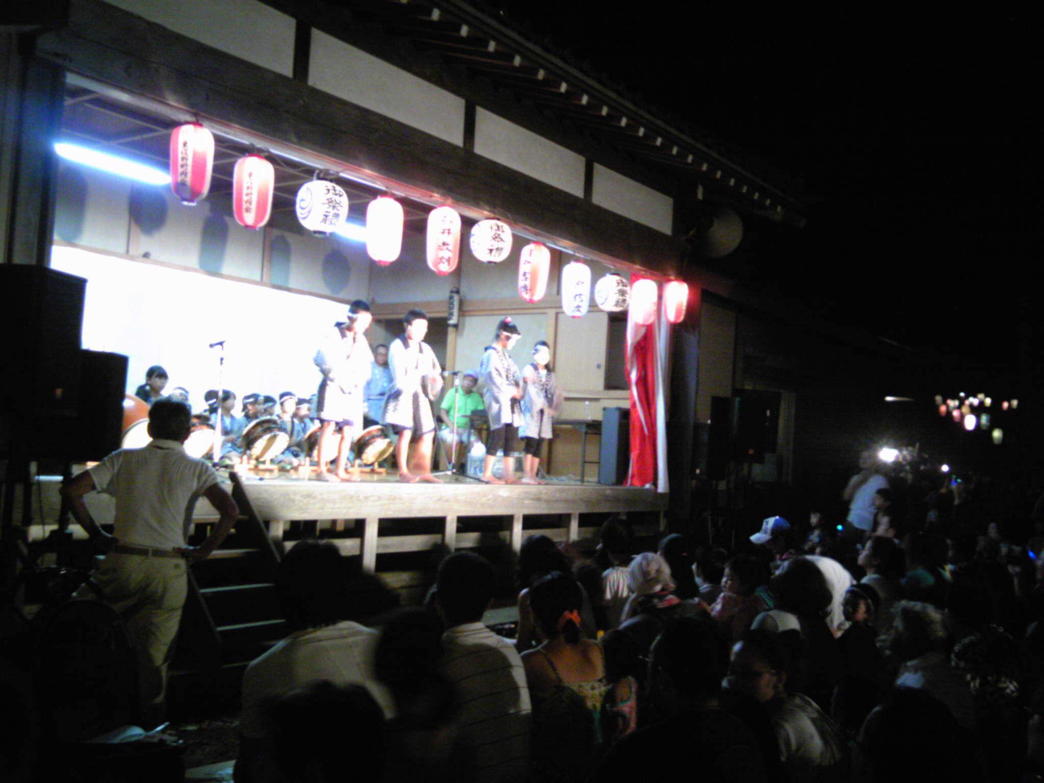 八坂神社にて